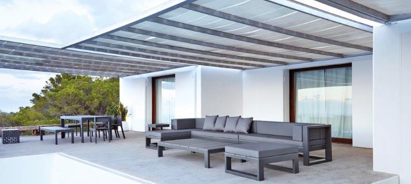 Loungemøbler til haven   luksus havemøbler med stil   alt om ...